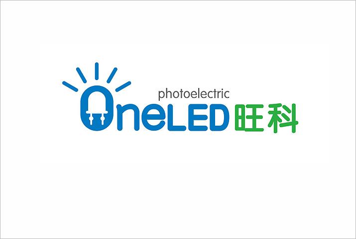 企业形象设计旺科光电logo设计