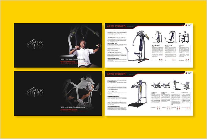 KEISER品牌手册设计样式展示。